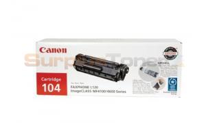 CANON FAXPHONE L120 104 TONER BLACK (0263B001)