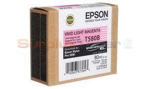 EPSON STYLUS PRO 3880 K3 INK VIVID LIGHT MAGENTA 80ML (T580B00)
