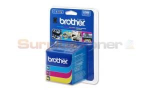 BROTHER MFC-3240C INK CARTRIDGES COLOR RAINBOW-PACK (LC-900RBWBP)