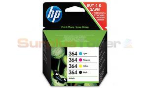 HP NO 364 INK CARTRIDGES BLACK/COLOR COMBO-PACK (SD534EE)