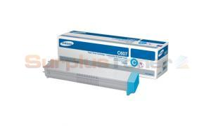 SAMSUNG CLX-9250ND TONER CARTRIDGE CYAN (CLT-C607S)