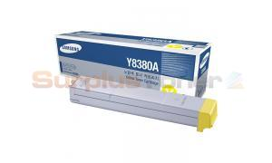 SAMSUNG CLX-8380ND TONER CARTRIDGE YELLOW (CLX-Y8380A/XAA)
