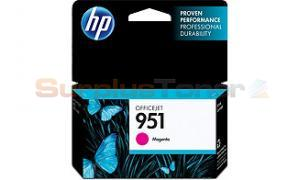 HP OFFICEJET NO 951 INK CARTRIDGE MAGENTA (CN051AN)