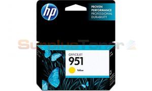 HP OFFICEJET NO 951 INK CARTRIDGE YELLOW (CN052AN)