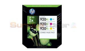HP OFFICEJET NO 920XL INK COLOR COMBO VALUE PACK (CN700BN)