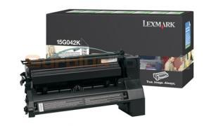 LEXMARK C752 PRINT CARTRIDGE BLACK RP 15K (15G042K)