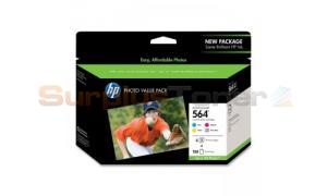HP NO 564 INK CARTRIDGES PHOTO VALUE PACK (CG491AN)