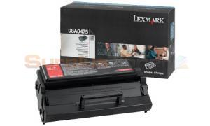 LEXMARK E320 TONER CARTRIDGE BLACK (08A0475)