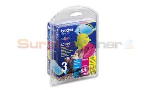 BROTHER DCP130C INK RAINBOW PACK (CMY) (LC-1000RBWBP)