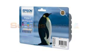 EPSON RX700 INK MULTIPACK CMYK LC LM (C13T55974010)