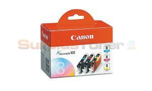 CANON CLI-8 COMBO VALUE PACK CMY (0621B014)