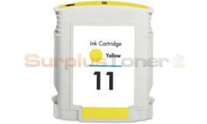 Compatible for HP NO 11 INK YELLOW (C4838AN)