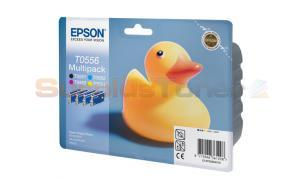 EPSON STYLUS PHOTO RX420 INK CTG CMYK MULTIPACK (C13T05564010)