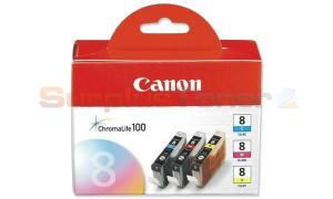 CANON CLI-8 INK CARTRIDGE COLOR (0621B026)