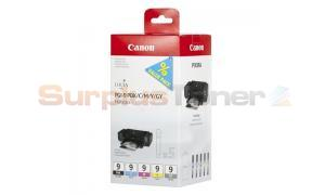 CANON PGI-9 PBK/C/M/Y/GY INK MULTIPACK (1034B011)