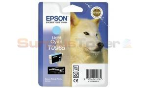 EPSON STYLUS PHOTO R2880 INK CART LIGHT CYAN (C13T09654010)