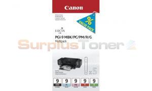 CANON PGI-9 MBK/PC/PM/R/G INK MULTIPACK (1033B011)