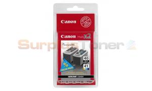 CANON PG-40/CL-41 INK CARTRIDGE BLACK/COLOR (0615B043)