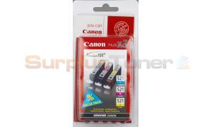 CANON CLI-521 INK CARTRIDGES MULTIPACK CMY (2934B010)