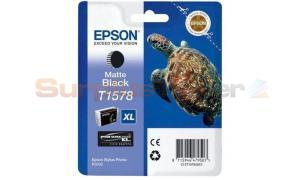EPSON STYLUS PHOTO R3000 INK CART XL MATTE BLACK (C13T15784010)