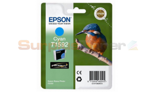 EPSON STYLUS PHOTO R2000 INK CARTRIDGE CYAN (C13T15924010)