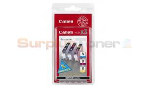 CANON CLI-8 C/M/Y INK CARTRIDGES MULTIPACK (0621B029)