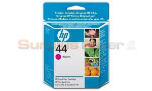 HP NO 44 INKJET PRINT CARTRIDGE MAGENTA 42ML (51644ME)