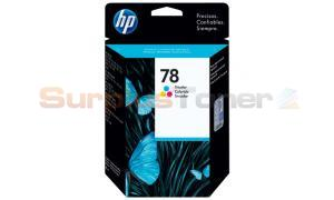 HP NO 78 INKJET CARTRIDGE TRI-COLOR (C6578D)