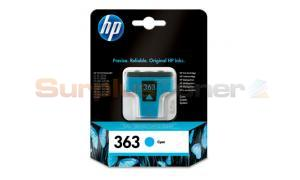 HP NO 363 INK CARTRIDGE CYAN (C8771EE#BA1)