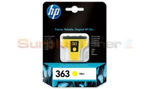 HP NO 363 INK CARTRIDGE YELLOW (C8773EE#BA1)