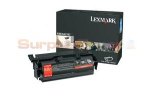 LEXMARK X651 X652 PRINT CARTRIDGE BLACK (X651A21E)