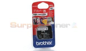 BROTHER M TAPE BLACK ON WHITE 9 MM X 8 M (MK-221BZ)
