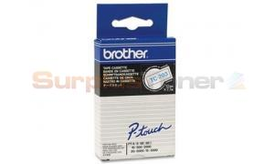 BROTHER TC TAPE BLUE ON WHITE 12 MM X 7.7 M (TC-203)
