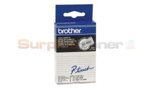BROTHER TC TAPE BLACK ON CLEAR-MATT 9 MM X 7.7 M (TC-M91)