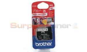 BROTHER M TAPE RED ON WHITE 9 MM X 8 M (M-K222BZ)