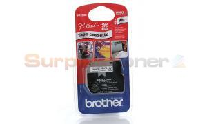 BROTHER M TAPE BLACK ON WHITE 12 MM X 8 M (MK-231BZ)