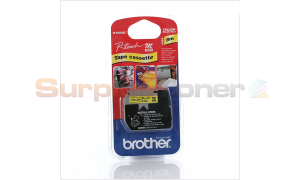 BROTHER M TAPE BLACK ON YELLOW 9 MM X 8 M (MK-621BZ)