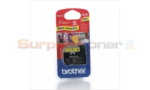 BROTHER M TAPE BLACK ON YELLOW 12 MM X 8 M (MK-631BZ)