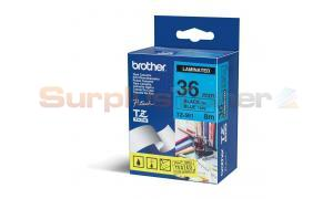 BROTHER TZ LAMINATED TAPE BLACK ON BLUE 36 MM X 8 M (TZ-561)