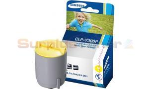 SAMSUNG CLX-3160 TONER CARTRIDGE YELLOW (CLP-Y300P/ELS)