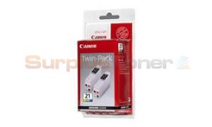 CANON BCI-21 INK COLOR TWIN-PACK (0955A357)