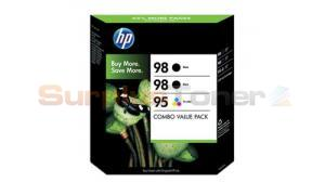 HP NO 98 95 INK CART BLACK/TRICOLOR COMBO PACK (CB312BN)