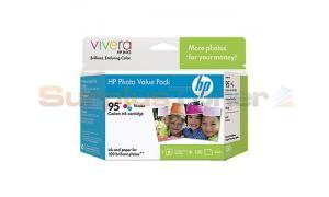 HP NO 95 INK TRI-COLOR PHOTO VALUE PACK (50 SHEET) (Q7946AN)