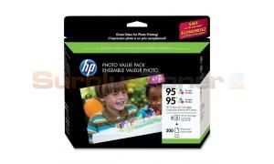 HP NO 95 INK TRI-COLOR PHOTO VALUE PACK (200 SHEET) (Q7938AN)