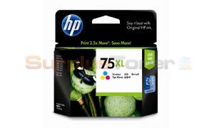 HP NO 75 INKJET CARTRIDGE TRI-COLOR HY (CB338WA)