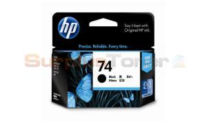 HP NO 74 INKJET CARTRIDGE BLACK 200 PAGES (CB335WA)