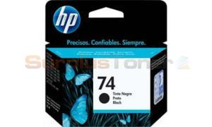 HP 74 INK CARTRIDGE BLACK (CB335WL)