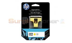 HP NO 02 INK CARTRIDGE YELLOW (C8773WC)