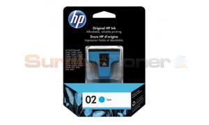 HP NO 02 INK CARTRIDGE CYAN (C8771WC)