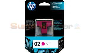 HP NO 02 INK CARTRIDGE MAGENTA (C8772WC)